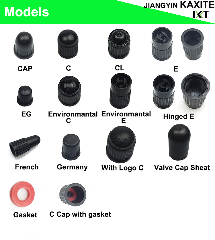 Universal Car Wheel Tire Valves Plastic Automobile Bicycle Tyre Valve Nozzle Cap Dust Cap Wheel Tire Valve Caps