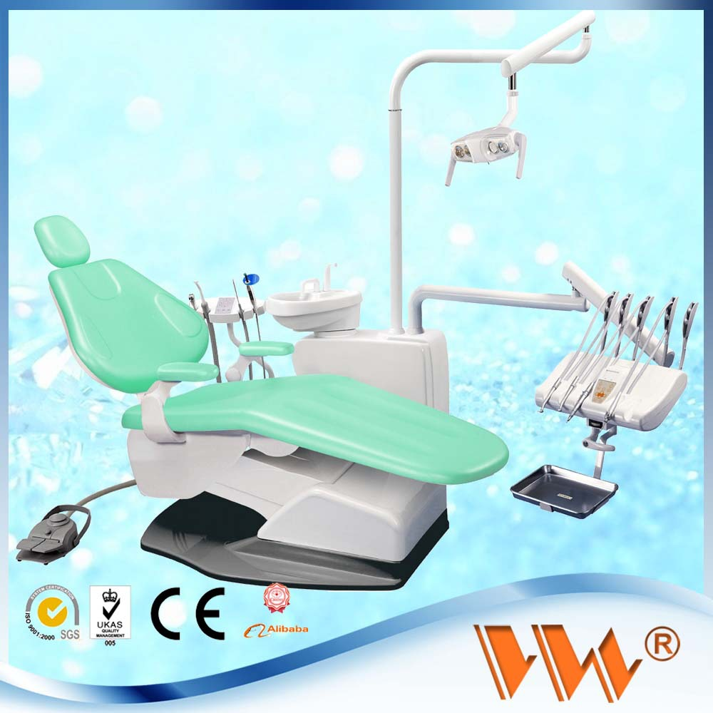 Vw comercio dental integral de lujo silla unidad dental instrumentos medico por china fabrica