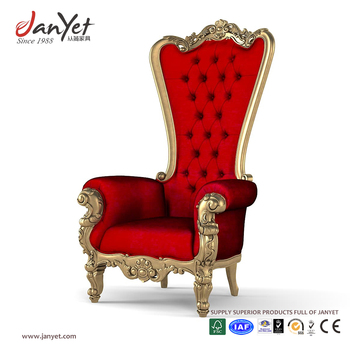 Wholesale Wooden King And Queen Antique Throne Chairs For Sale View