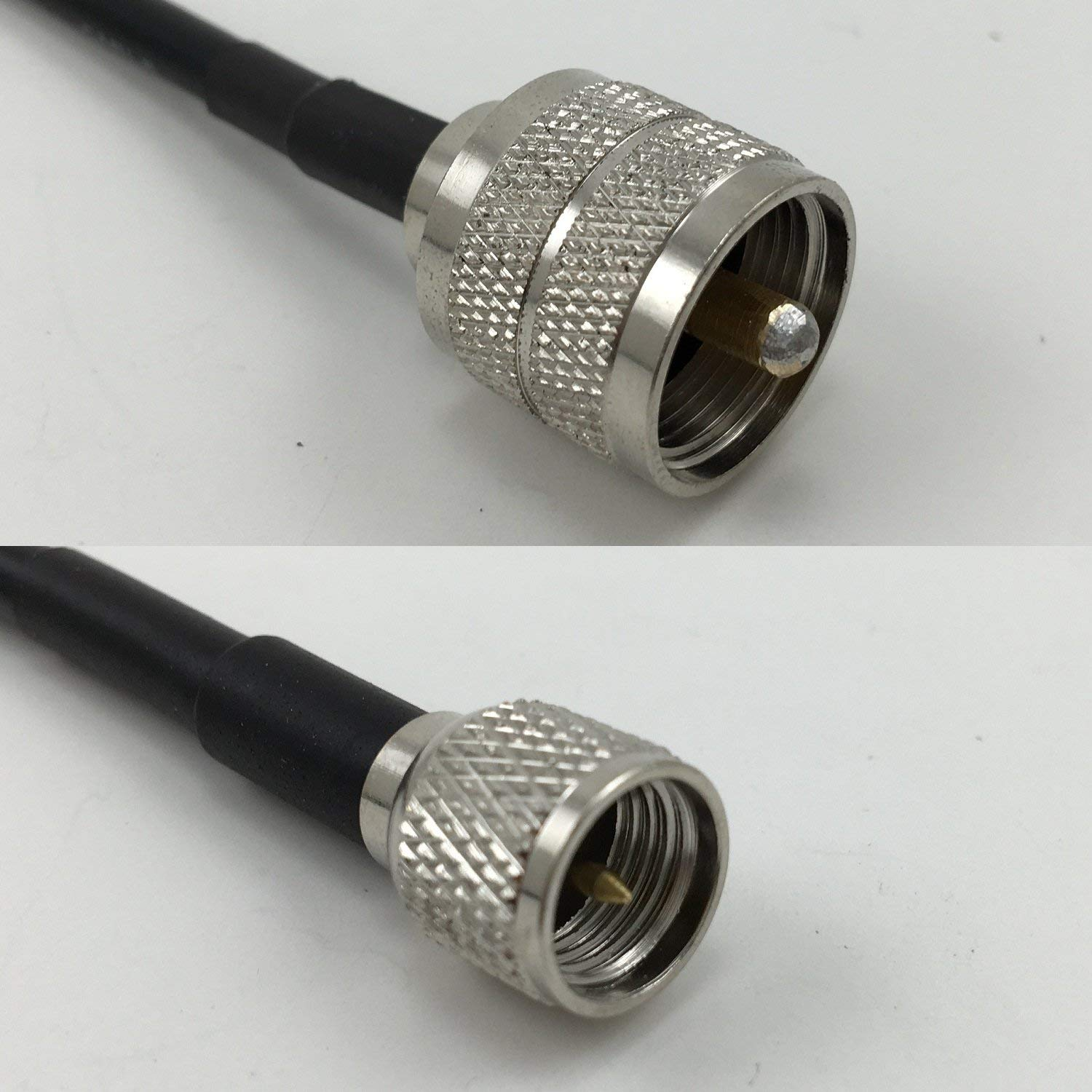 3 feet RG142 N FLANGE FEMALE to N MALE Pigtail Jumper RF coaxial cable 50ohm High Quality Quick USA Shipping