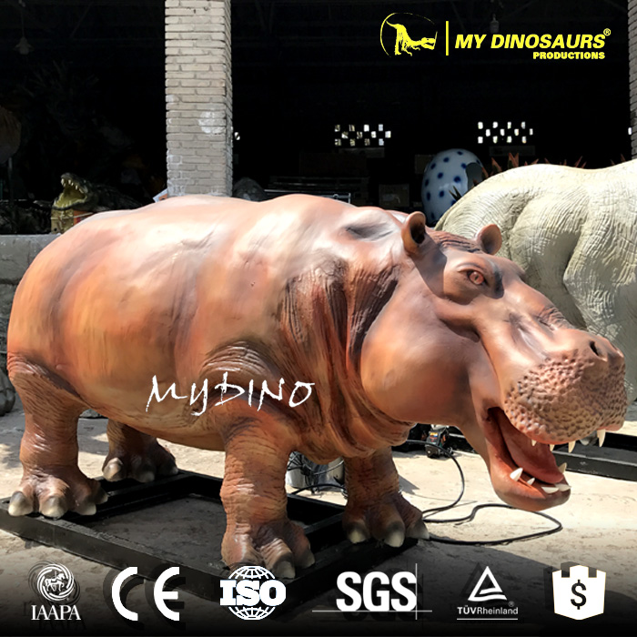 MY Dino AA-49 High Realistic Hippo Model For Exhibition