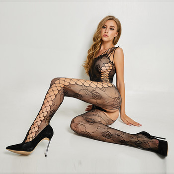 2019 New transparent women fishnet sex bodystocking