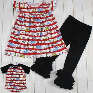 Adorable kids children clothing manufacturers china animals kids clothing sets girls boutique clothing for baby