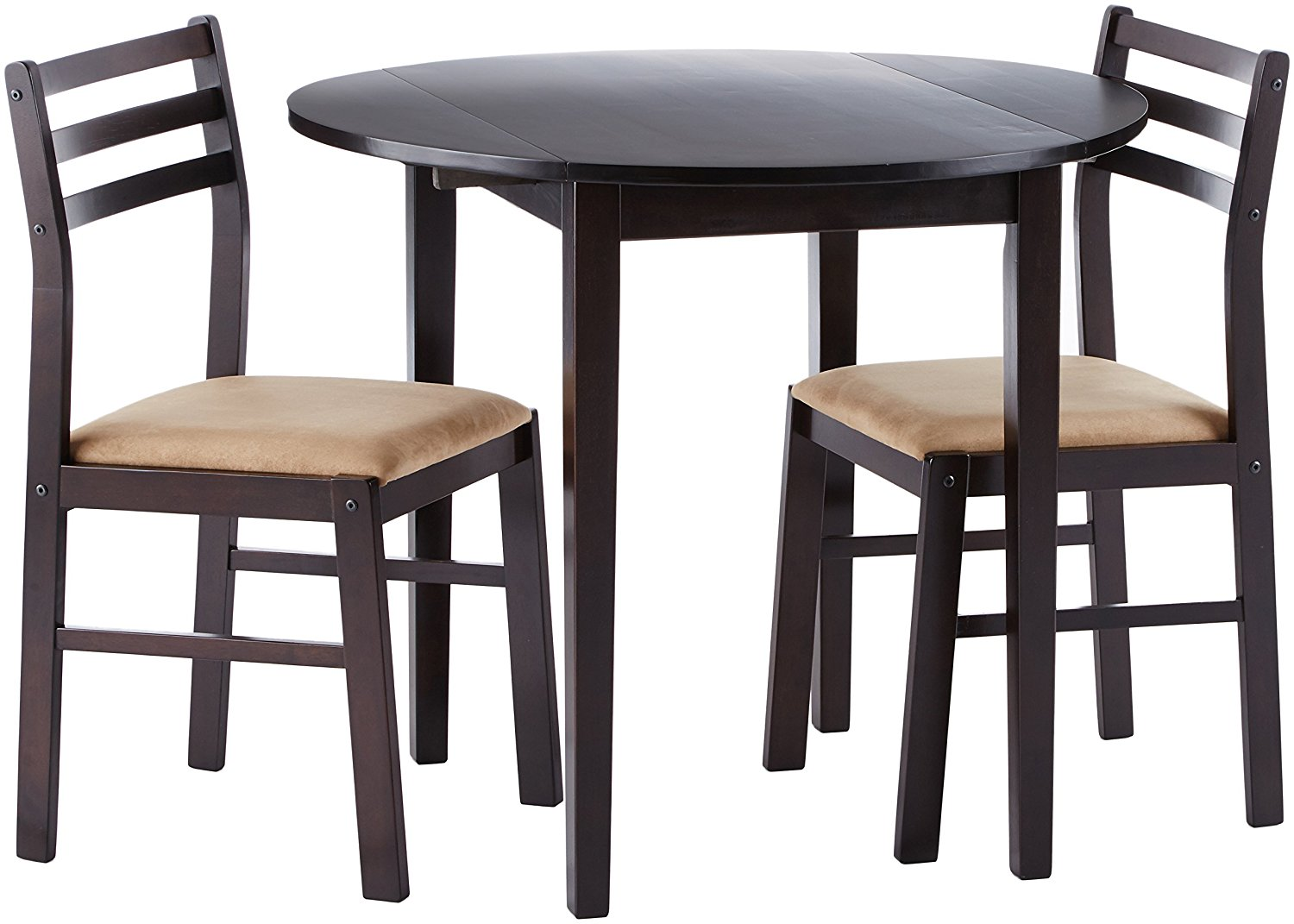 Picture of: Counter Wooden Dining Table Chairs Set Breakfast Nook Or Small Dining Space Furniture Buy Folding Table Home Garden Dining Table Set Product On Alibaba Com