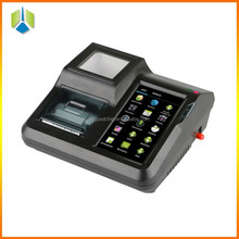 Restaurant pos terminal with barcode scanner , hight-speed printer and colorful camera for e-ticketing business --Gc005+