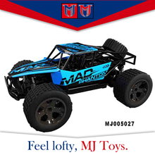2.4G 1:18 diecast scale nitro model remote control car chassis with big wheels
