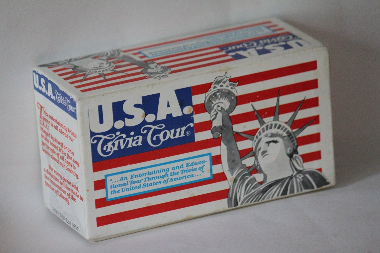 Usa Trivia Tour Card Set