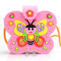 DIY Educational Toys Handmade EVA Bags Kids Early Learning Education