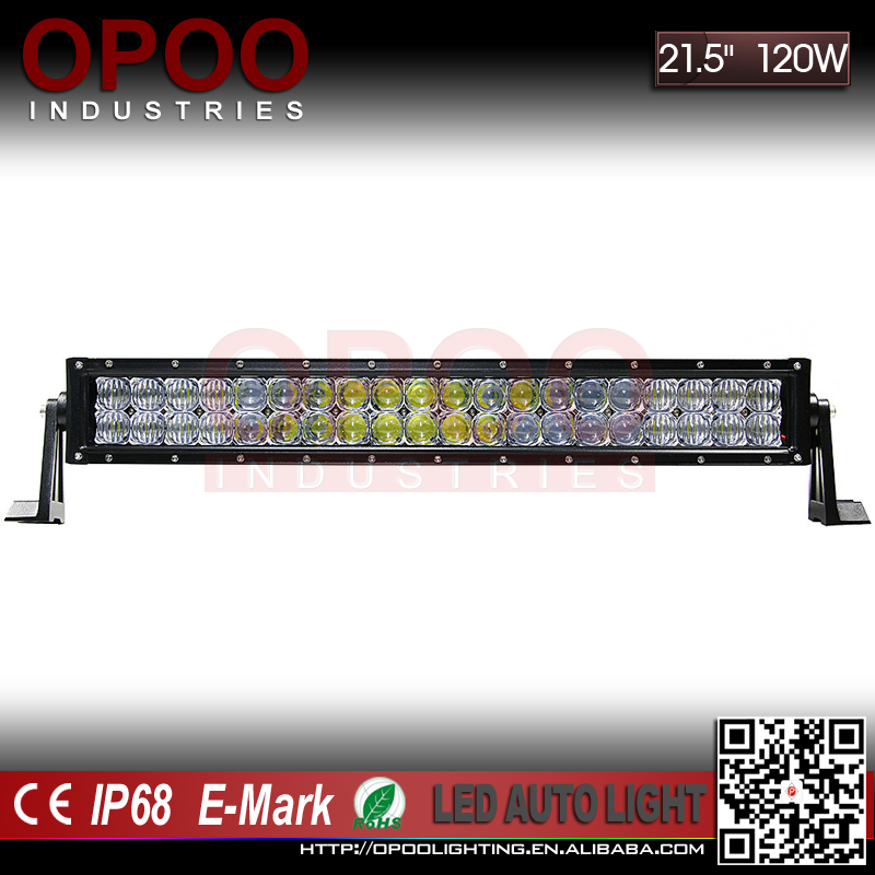 "High Quality Auto Parts 6000K IP68 Offroad ATV SUV 20"" 120W Straight 5D Led Light Bar"