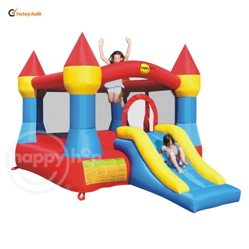 Happyhop Inflatable Bounce with Slide-9017