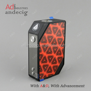 Limitless LWC 200W Temperature Control Mod Powered by Dual 18650 Cells