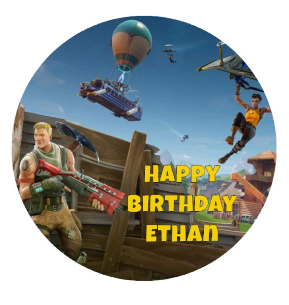 Buy Fortnite Edible Cake Toppers For Your Birthday Cakes 8