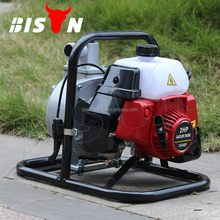 BISON(CHINA) Recoil Start Portable 1 Inch Gasoline Centrifugal Water Pump