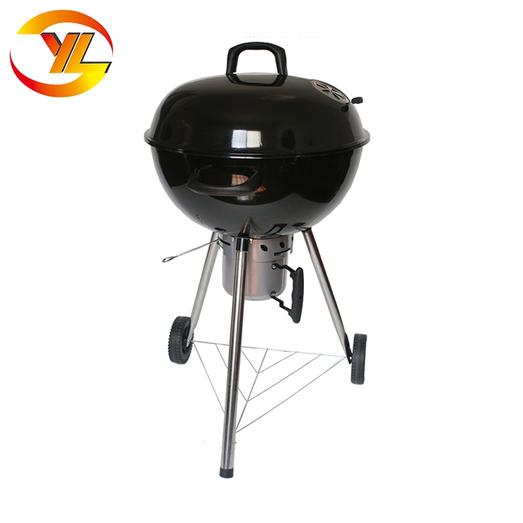 New Style Apple Shaped Outdoor Charcoal Bbq Griller