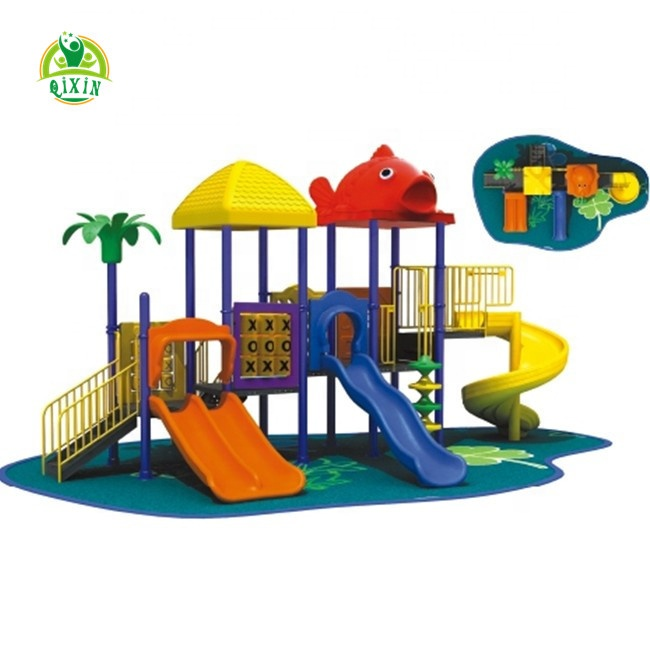 best sale toys rus playground equipment fish animals playground equipment in china QX-056D