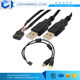 China Manufacturer usb rs232 to rj50 cable with flat connector