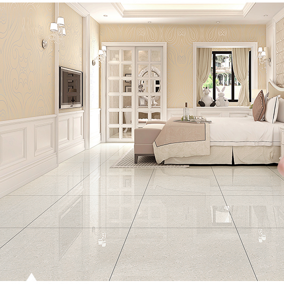 Tire Factory In China Fashion Types Nano Polished White Floor Tiles