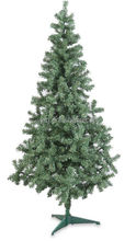 6.5 FOOT PENCIL SLIM PINE GREEN CHRISTMAS TREE BRAND 6.5 ft. tall N.I.B.