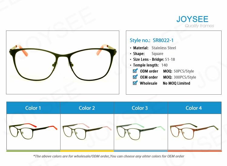 Joysee Merek 2016 Terbaru Dalam Gaya Modern Resep Logam Bingkai ca3988d693