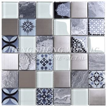 Home Depot Antique Pattern Design Crystal Gl Moroccan Mosaic Tile For Kitchen Decoration Wall