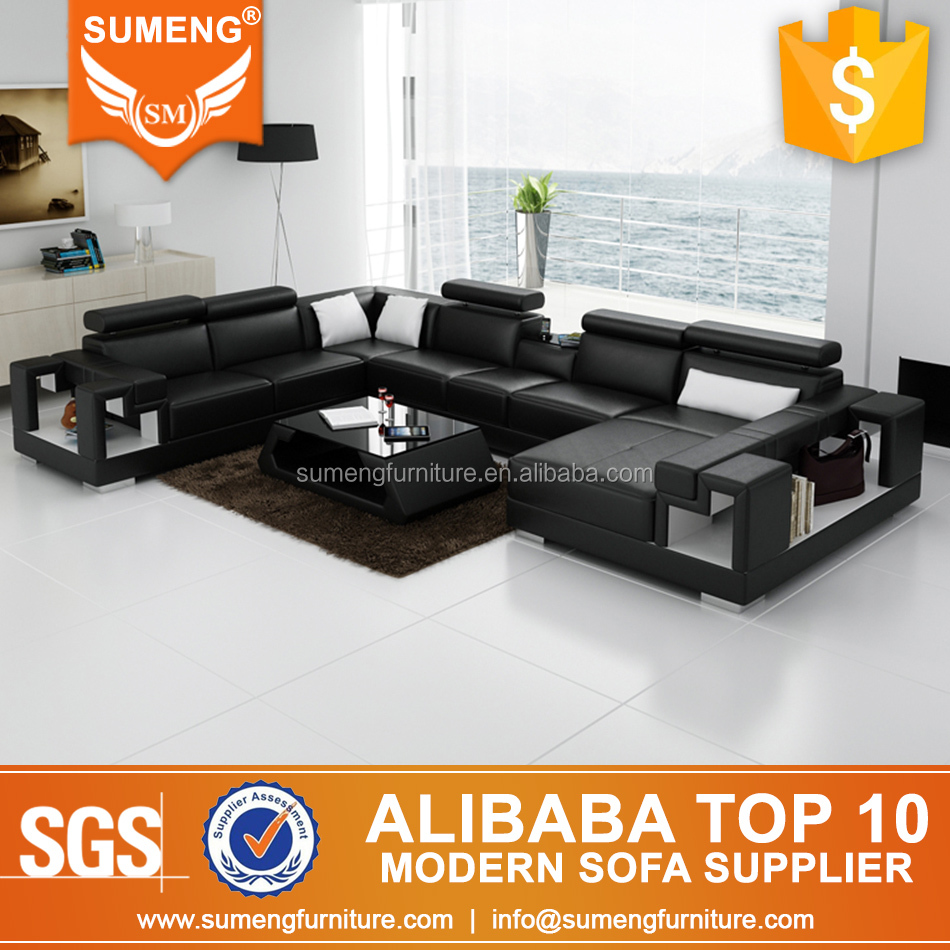 Sumeng cheap indian style floor sofa designs with side table