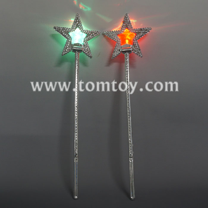 Cheap LED Light up Star Fairy Stick