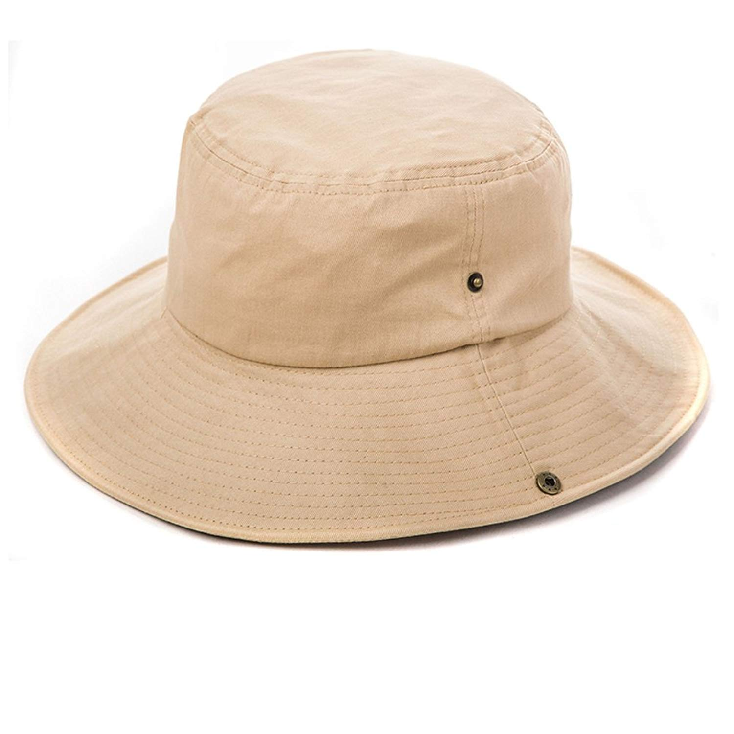 men's hat / sunscreen Sunhat/Outdoor mens hats/Big bucket Hat/anti-ultraviolet-proof hats/SPF Sun hats