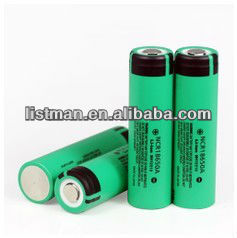 18650 for panasonic NCR18650A 3100mAh li-ion battery
