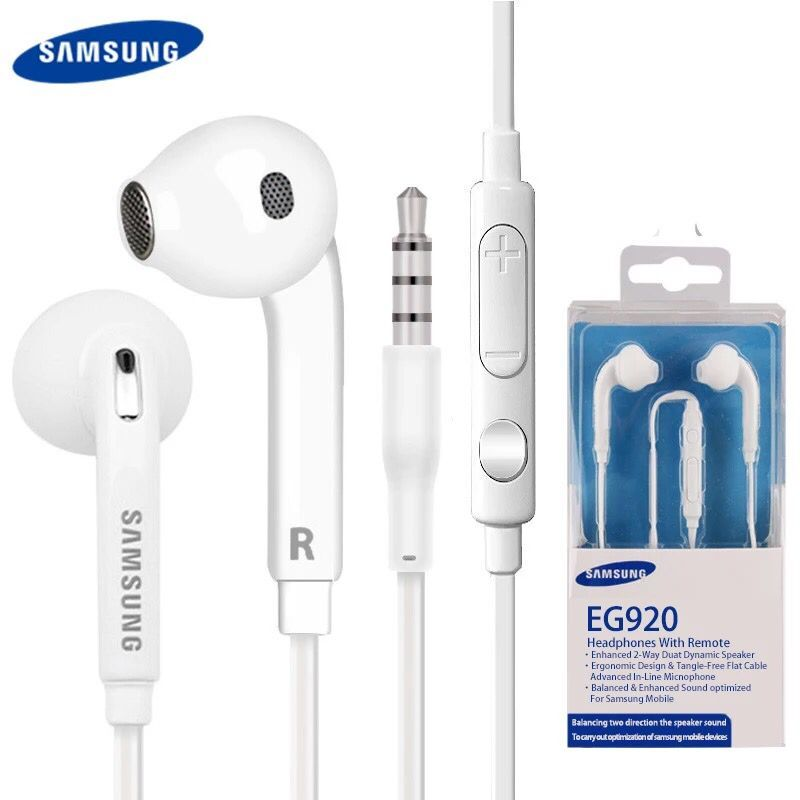 Original High quality headset in ear headphones earphone With Remote Mic for Samsung s6 s7 s8 3.5mm plug With packaging фото