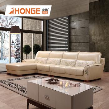 Living Room Corner Pure Leather