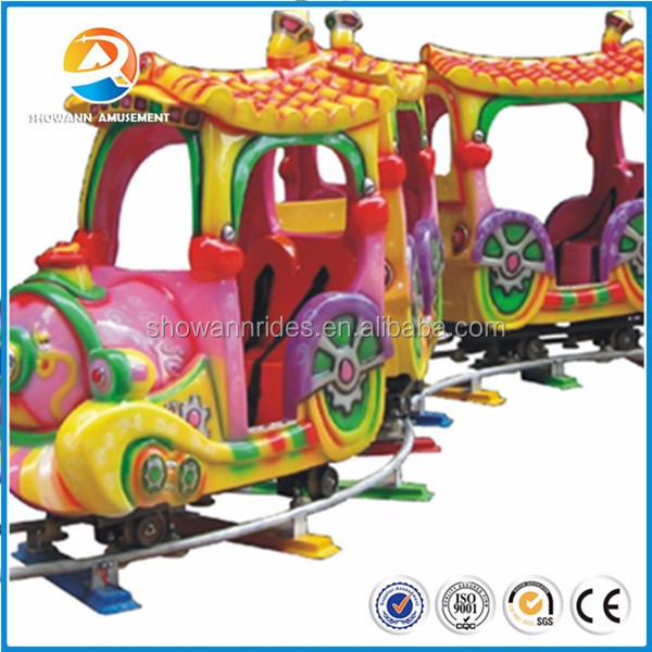 Indoor mini kids electric toy train animal model track on train for sale