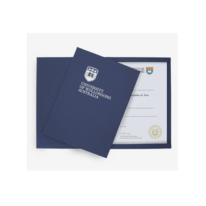 DaLiJia Degree Certificate Cover
