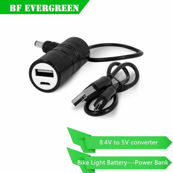 Bicycle Light 8.4v Battery Converter,Covert 8.4v Bike Light ...