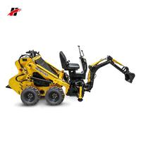 Swimming left right automatically wheel driving mini loader Dingo Toro garden backhoe