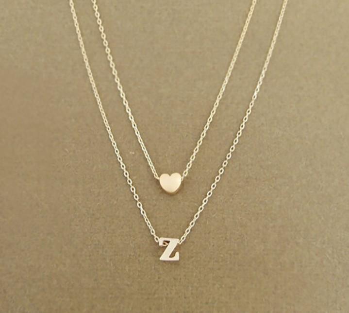 Atacado personalizado colar de pingente de ouro / colar de nome