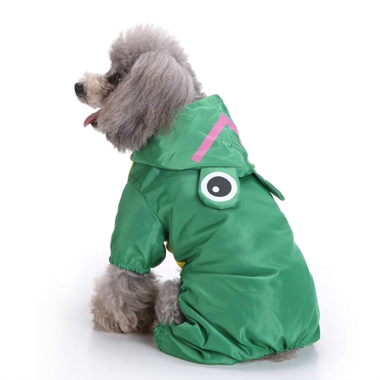 Morecome pet vest Small Dog Hooded Raincoat,Morecome Pet Waterproof Puppy Dog Cute Outdoor Raincoat