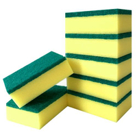 multi-colored low price custom printing cellulose sponge cloth for kitchen