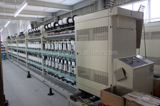 NanFeng KC160-B Rubber / Elastic yarn /Shirr Thread Covering Machine(Menegatto /OMM type)