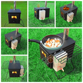 Camping Wood Burning Stove With Water Jacket Buy Wood