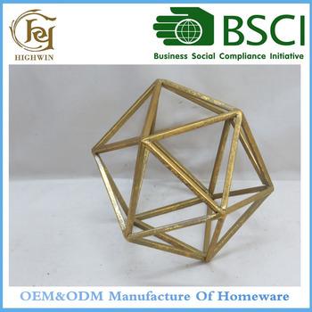 Highwin Prisma Decorative Accents, Copper For Home Decor
