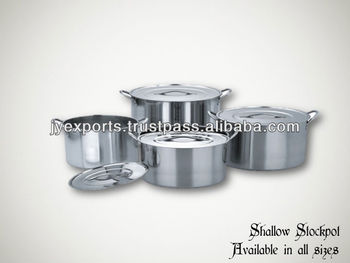 Stainless Steel Shallow Stock Pot,Small Stainless Steel Stock Pot ...