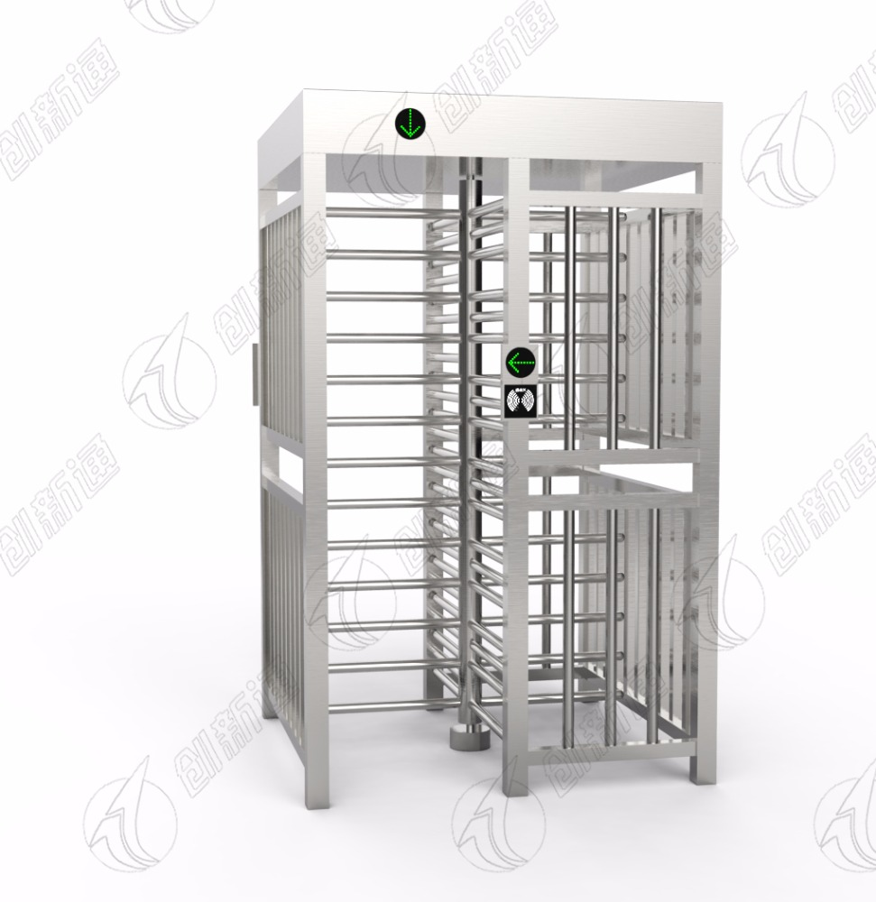 Automatic Electric Full Height Turnstiles for Access Control