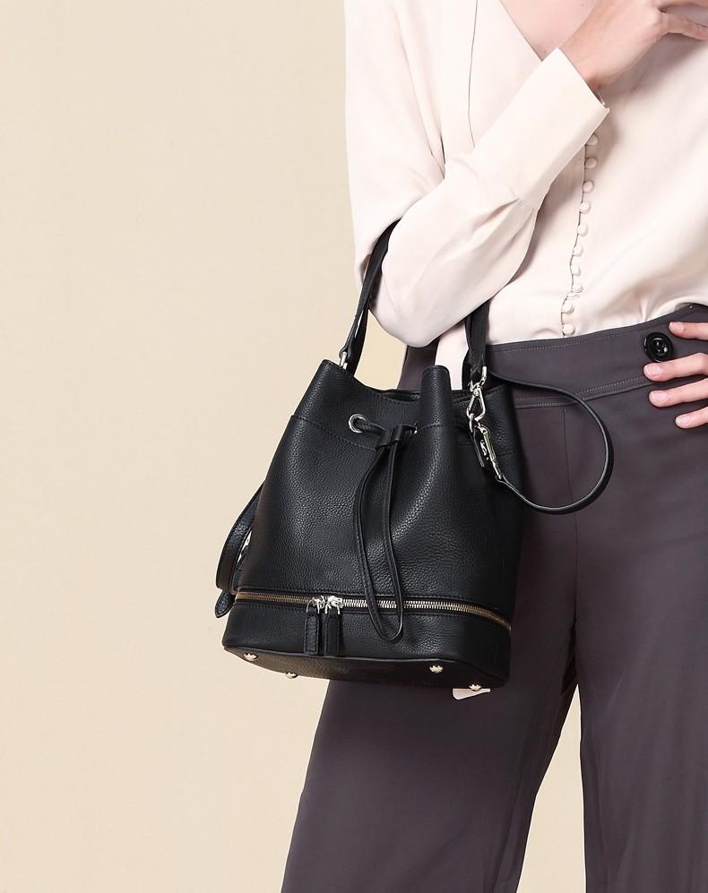 Klasik Desain Nyata Sapi Tas Kulit Wanita Asli Buy Tangan Betina