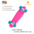 22inch skateboard mini cruiser fish skateboard for kids Plastic skateboard colorful wheels