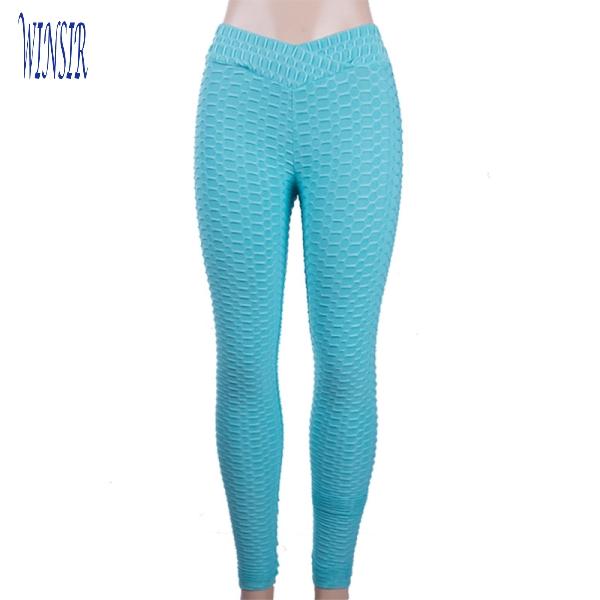 Women high waisted white textured V Cut Waist scrunch butt Yoga leggings fitness workout pants Gym Sports Activewear leggings фото