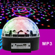 Remote Control Rechargeable Battery KTV 3D Surrounding disco ball light wireless blue tooth speaker