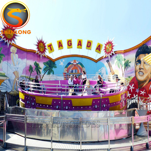 Direct Manufacturer On Most Popular Disco Tagada Rides Funfair Rides for sale