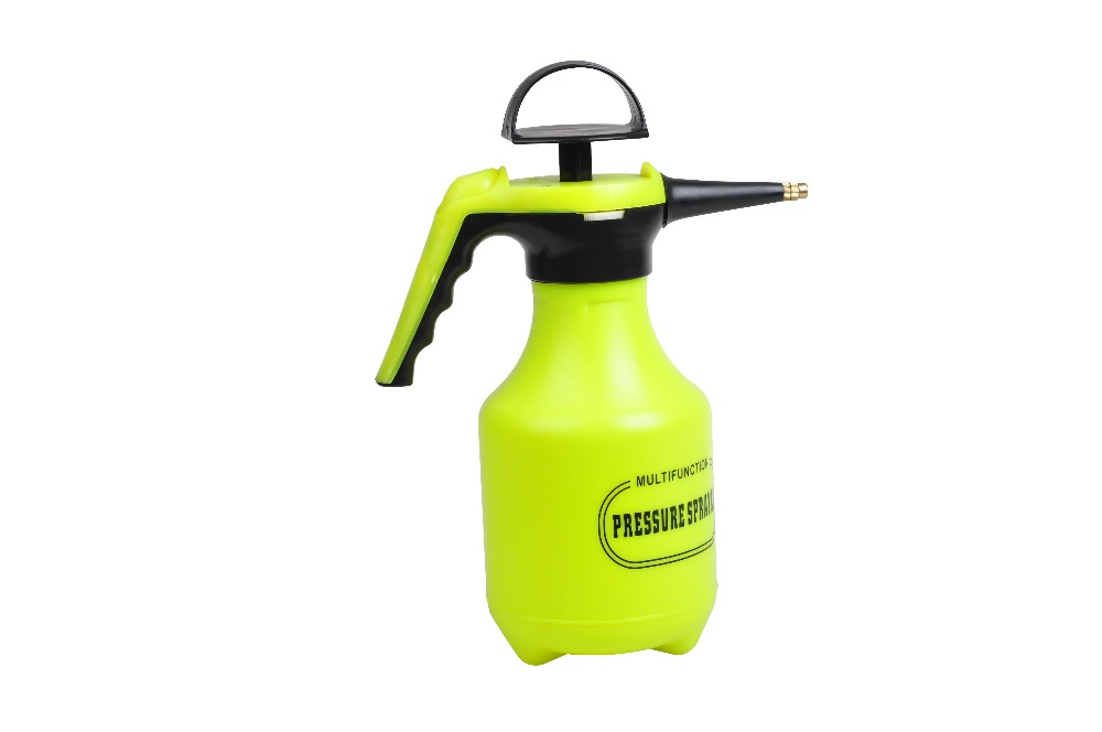 2L yellow hand pump compression garden pump sprayer
