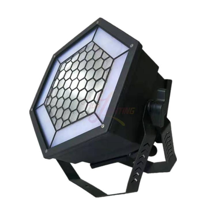 Blight par can 200w cob warm cold white bar light rgb single hexa led pixel lighting