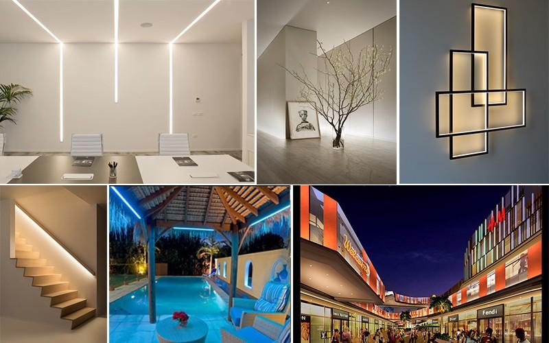 Shenzhen IP68 waterproof led light strip led, led strip light for swimming pool